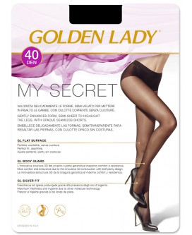 My Secret 40 Golden Lady